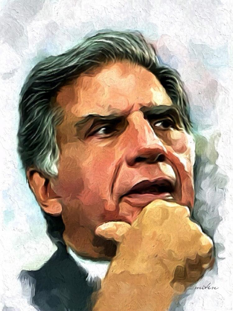 Ratan Tata by lapsiyaji